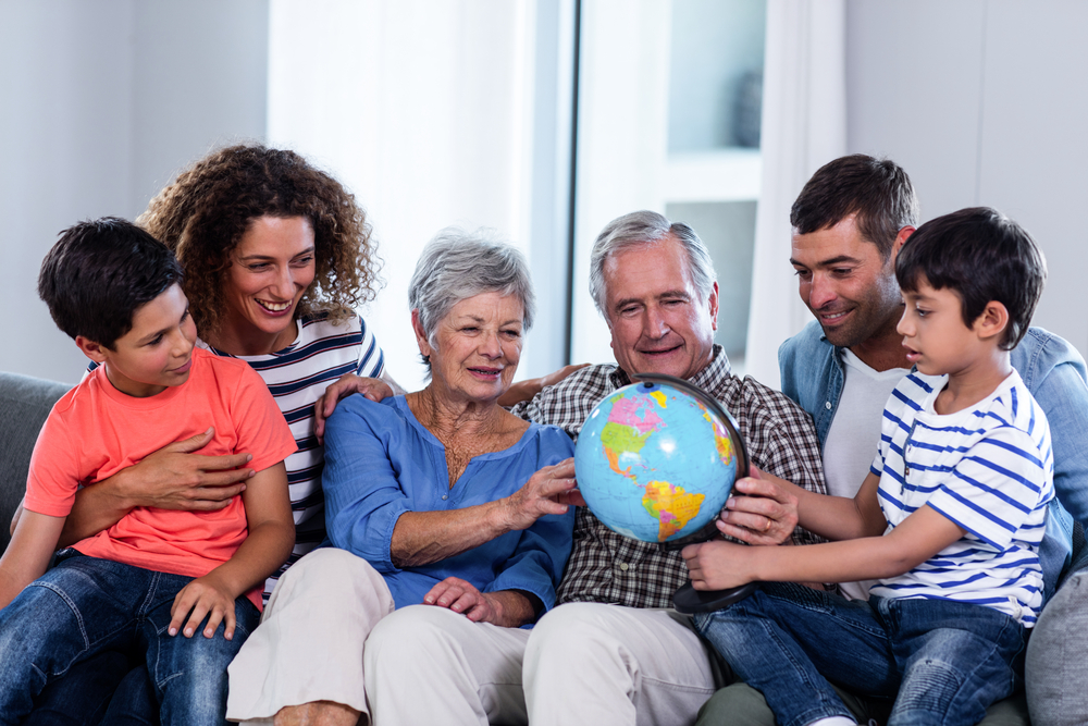 spend holidays with elderly