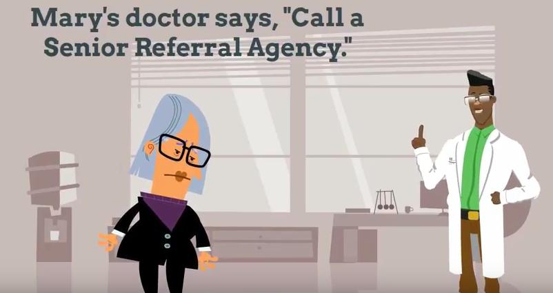 HB 2661-8 senior referral agent videos